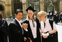 Oxford: une université internationale