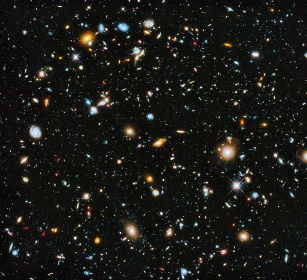 QUELLE EST LA TAILLE DE L'UNIVERS ?