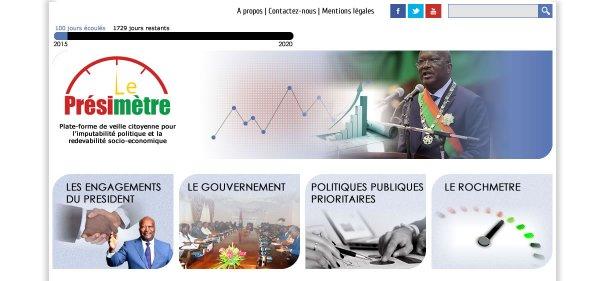 Dialogue politique/ Les 100 jours du président Roch Marc Christian Kaboré sous la loupe du Présimètre