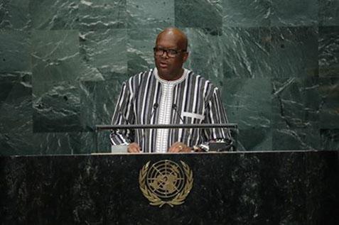 A la tribune des Nations unies, Roch Marc Christian KABORE appelle à « une réforme responsable et équilibrée de l'ONU »