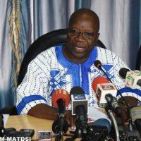 Le ministre d'Etat, Simon Compaoré.