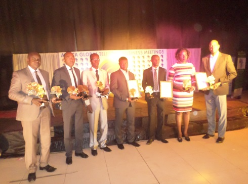 1-Les lauréats de la soirée des TIC .