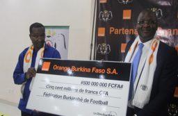 FBF-Orange Burkina une convention de 500 millions pour une durée de 4 ans