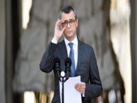 Alexis Kohler, secrétaire général du Palais présidentiel de l'Elysée, annonce la composition du gouvernement français le 17 mai 2017 à Paris, deux jours après la nomination du Premier ministre Edouard Philippe.