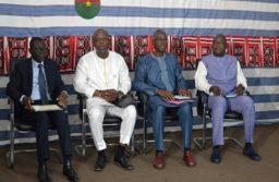 quatre ministres étaient face à l presse à ce 5è point de presse du gouvernement
