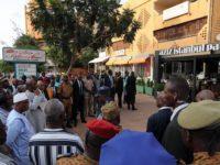 Le Président malien sur le lieu de l'attaque
