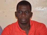 Ouiry Sanou, le trésorier général de l'organisation démocratique de la jeunesse