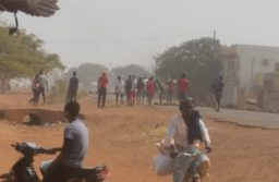 Crise dans le monde éducatif :Échauffourées entre Force de l'ordre et Scolaires à Koudougou