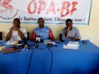 Politique: L'OPA-BF, le dernier né des partis politiques au Burkina Faso entend créer les Etats unis d'Afrique