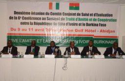 TAC Burkina Faso-Côte d'Ivoire : Le comité de suivi et d'évaluation des recommandations et décisions en conclave à Abidjan.