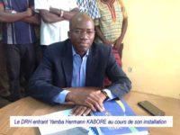 Direction des ressources Humaines du MENA : Yamba Hermann KABORE prend officiellement les rênes