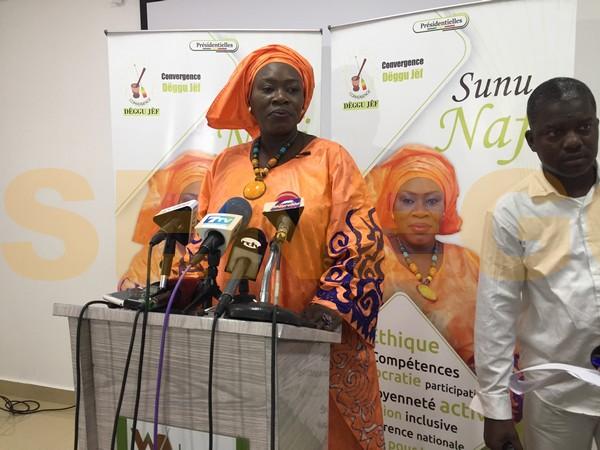 Présidentielle de 2019 au Sénégal: Nafissatou Wade annonce sa candidature