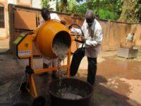Batteuse-nettoyeuse de riz et de fonio, etc...